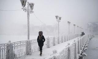 Dünyanın En Soğuk Yeri Rusya Oymyakon