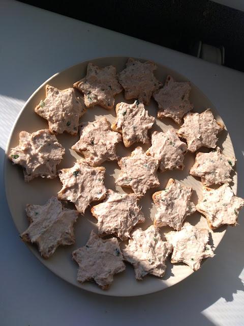 toasts sains protéinés thon farine complète carré frais