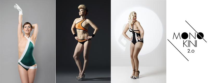 Monokini 2.0 bañadores para mujeres con un pecho