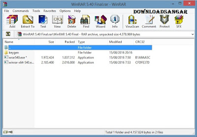 Download WinRAR 5.40 Final Full Keygen
