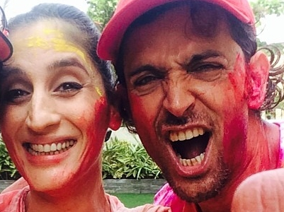 Happy Holi Images, Pictures, Photos of Hrithik Roshan