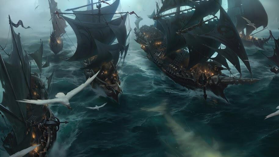 Hunting Fleet, Legends of Runeterra, 4K, #3.1759