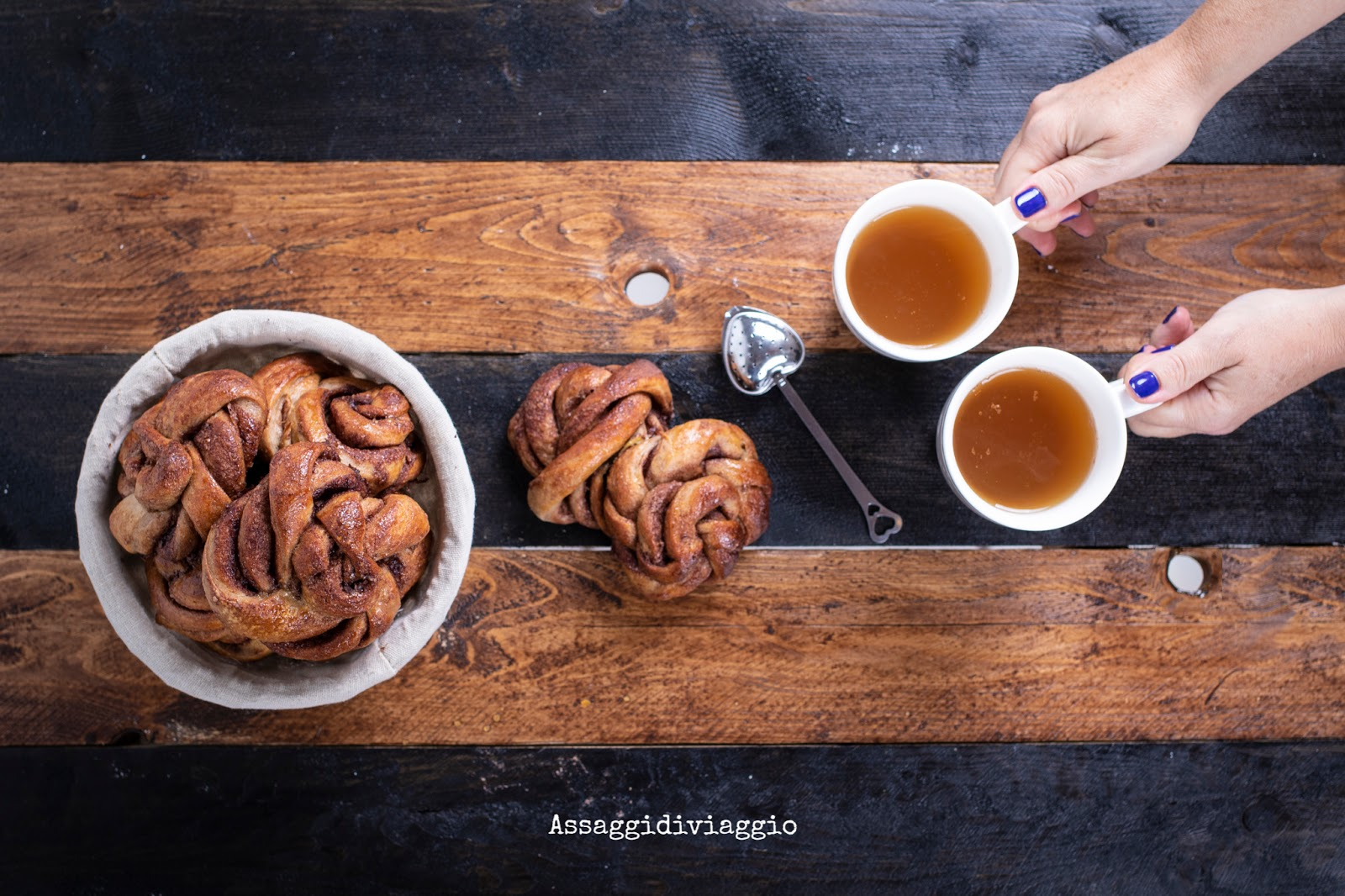 Kanelbullar o Cinnamon Buns Svedesi