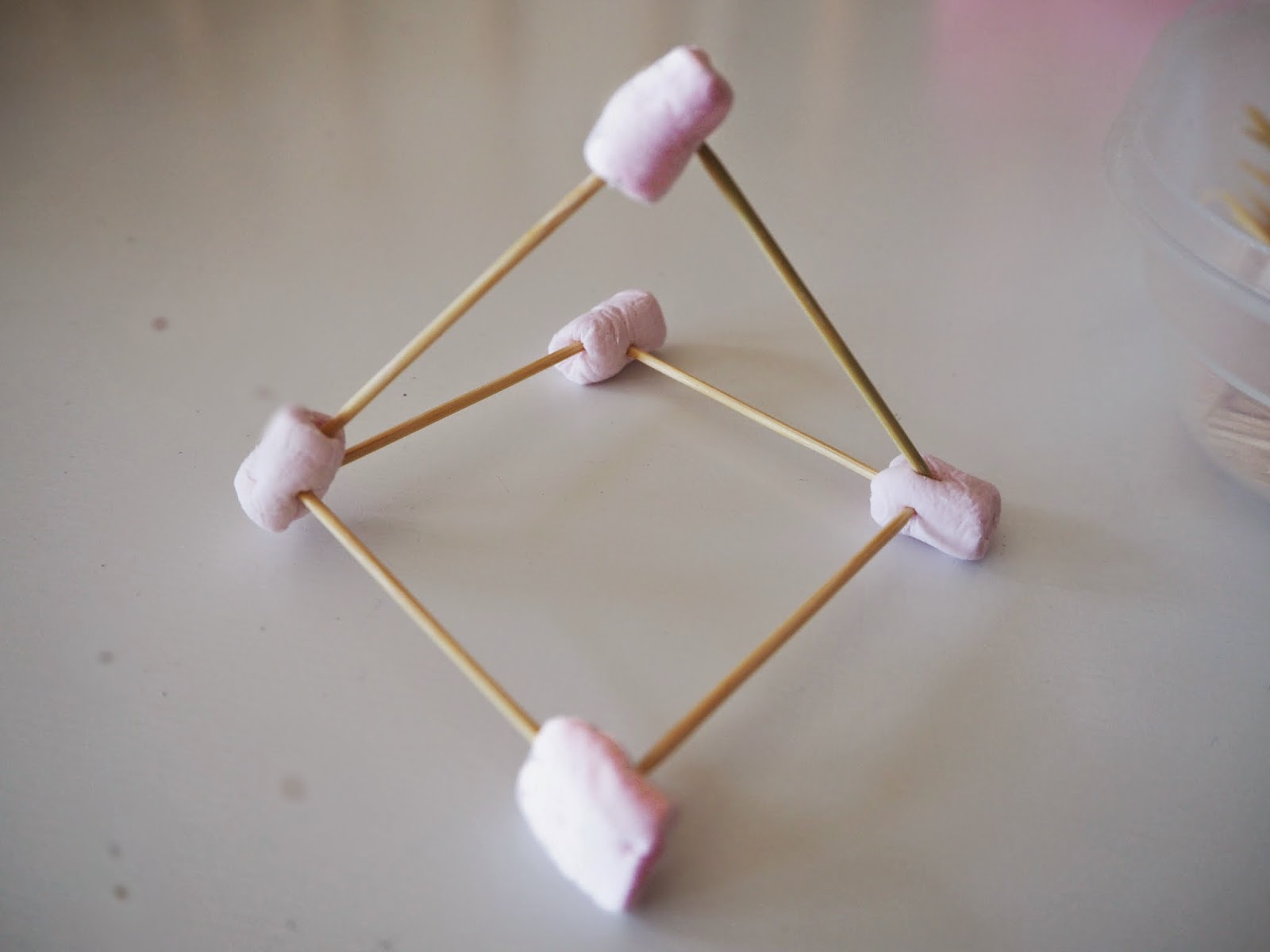 Learn With Play At Home Mini Marshmallow And Toothpick Building Challenge For Kids