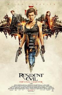 film terbaru 2017 Resident Evil: The Final Chapter