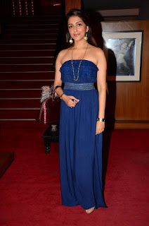 Bollywood Beauty Aari Chabria in a Beautiful Floor Length Shoulder Less Jump Suit