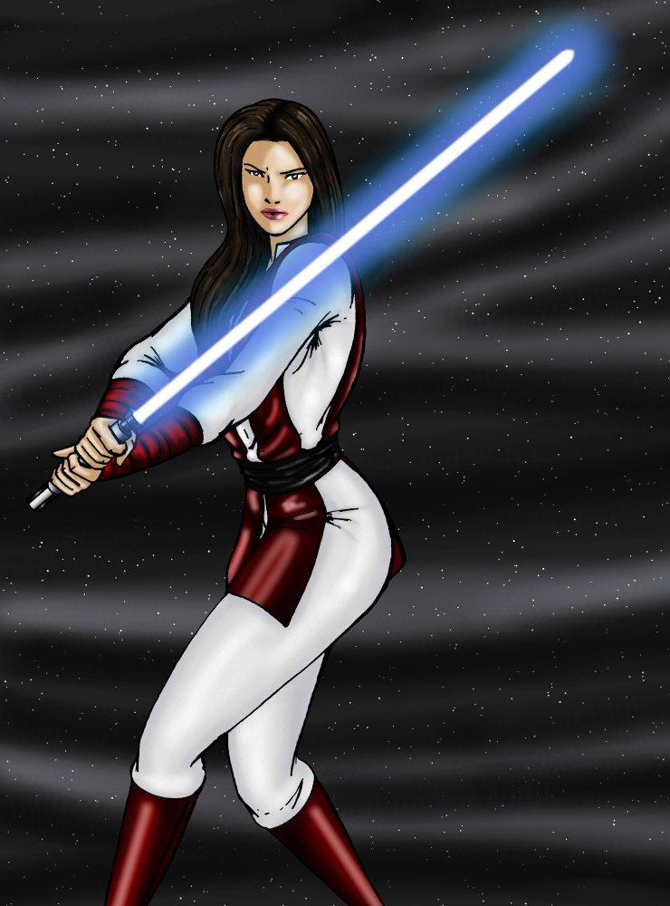 Jaina Solo, Star Wars 1/7 Scale Pvc Figura Kotobukiya ... |Star Wars Episode 7 Jaina Solo