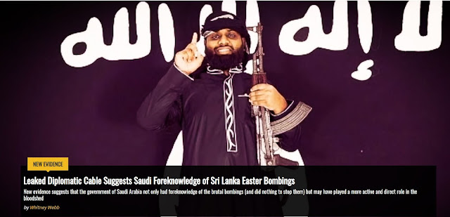 Breaking News : Saudi Arabia Involved In Sri Lanka Easter Bombing. So Pakatan Harapan Just Wait Until They Put A Bomb Up Your @$$.