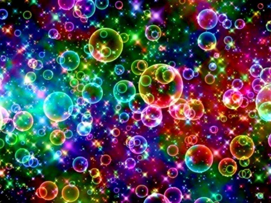 Rainbow Bubbles Wallpaper Desktop Dom Wallpapers