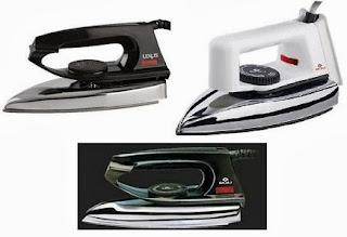Usha Ei 2802 Iron worth Rs.795 for Rs.370 | Bajaj Dry Iron Dx 2 worth Rs.595 for Rs.394 | Bajaj Popular Iron worth Rs.595 for Rs.415 Only