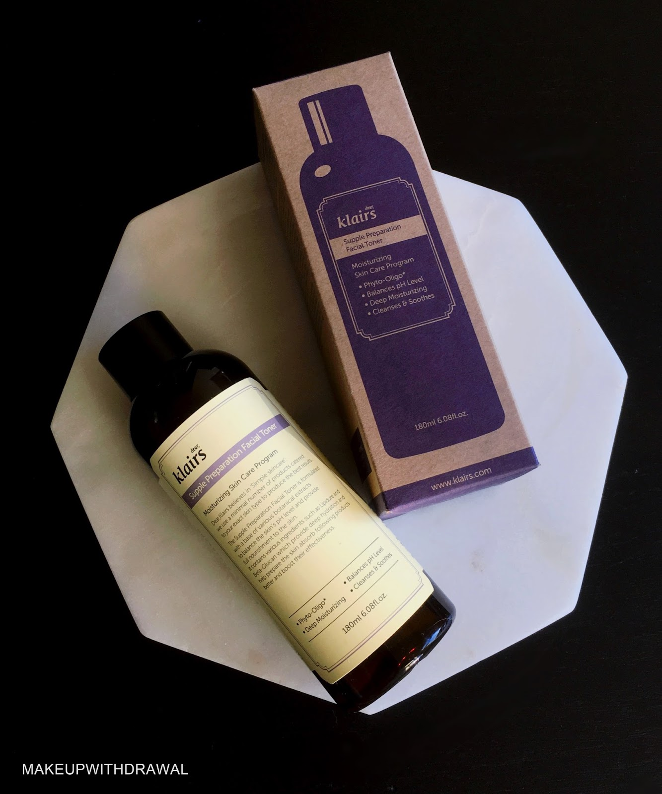 Klairs Supple Preparation Facial Toner Makeup Withdrawal Bloglovin Pureheals Galactomyces 90 Ampoule 30ml