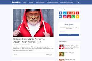 ShareMe - Blogger Template