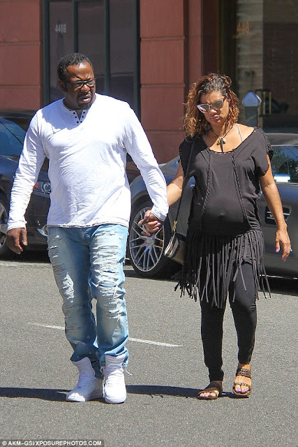 bobby brown seems to have found peace with second wife Alicia Etheredge