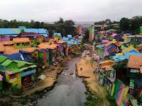 Kampung Jodipan Kampung Kumuh Yang Kini Menjadi Wisata Andalan