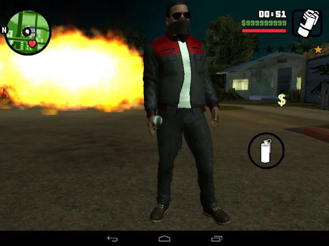Call An Airstrike Mod GTA San Andreas Android Download