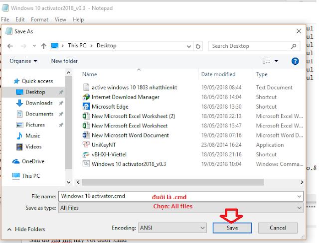 Hướng dẫn Actve WINDOWS 10 APRIL 2018 UPDATE 1803 100% thành công mà không dùng phần mềm