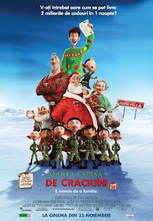Marea cursă de Crăciun –  Desene animate cu Mos Crăciun