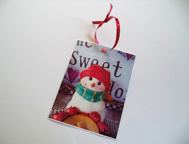 DIY Picture Ornament
