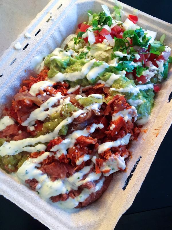 Tinga de Pollo Buritto Bowl, Mi Taco Taqueria, Toronto