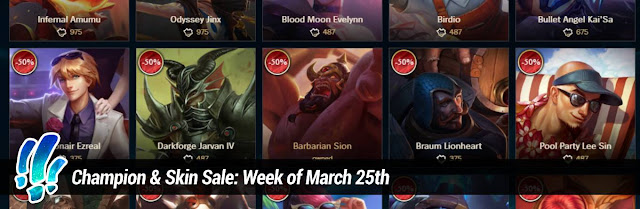 b8575505a Surrender at 20  Champion   Skin Sale  Week of March 25th