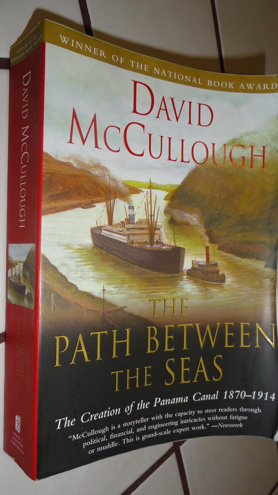 McCullough made the seemingly boring story of the creation of Panama Canal  a fascinating one. So many pivotal people involved came alive in his book.