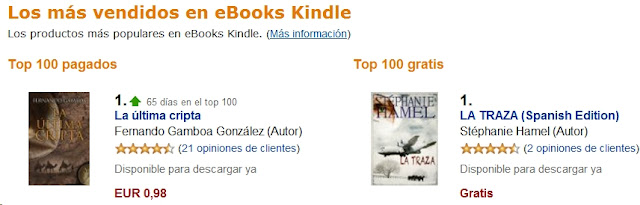 Amazon top ebooks 17/7/2012
