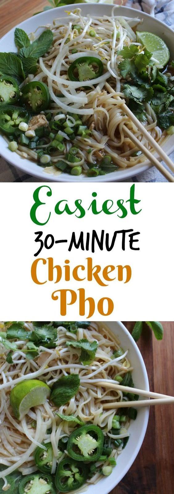 Easy Rotisserie Chicken Pho