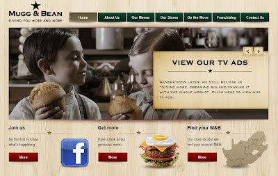 Diseños web de cafeterías