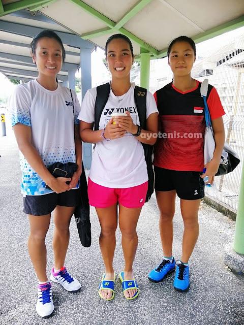 Aldila Melaju ke Babak 2 Turnamen Tenis ITF Singapura 25k, Nadia Ravita dan Janice Tjen Kandas