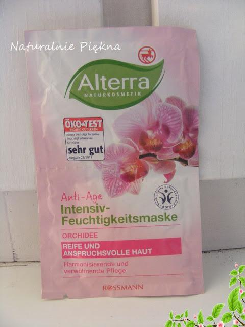 Alterra Orchidea maseczka przeciw zmarszczkowa