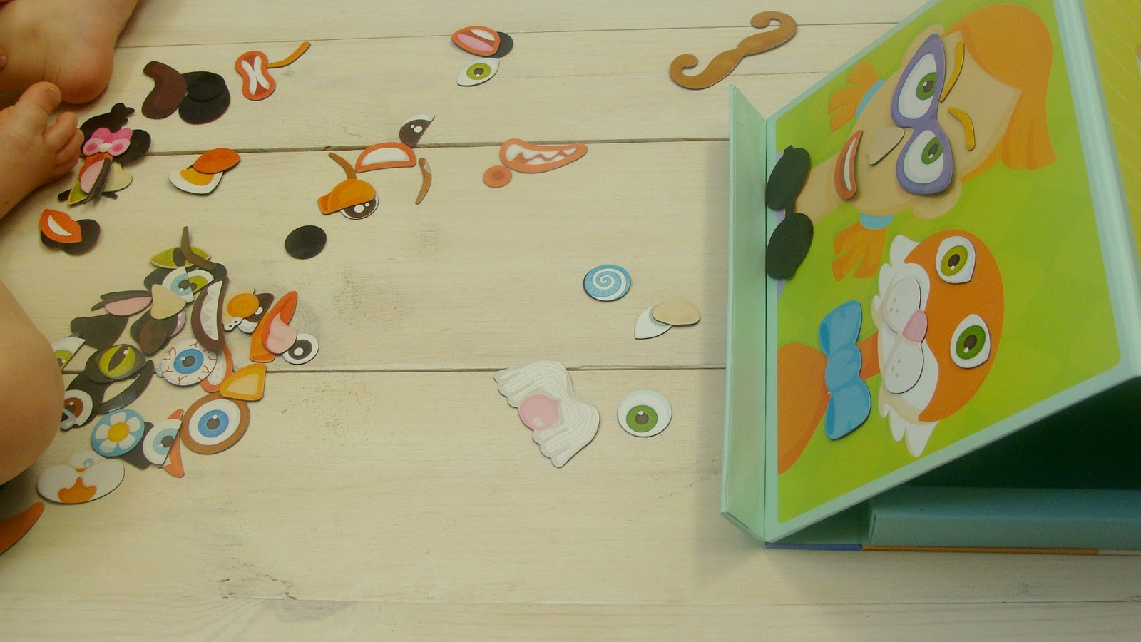 Zalety książek magnetycznych, książka magnetyczna Twarz Sevi