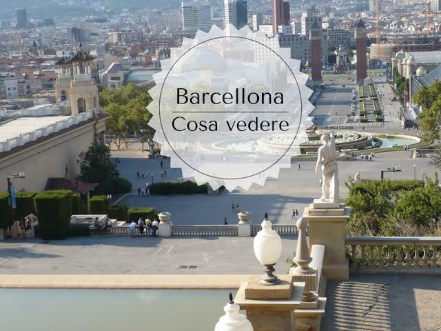 Cosa vedere a Barcellona in tre giorni: scalinata del palau Nacional