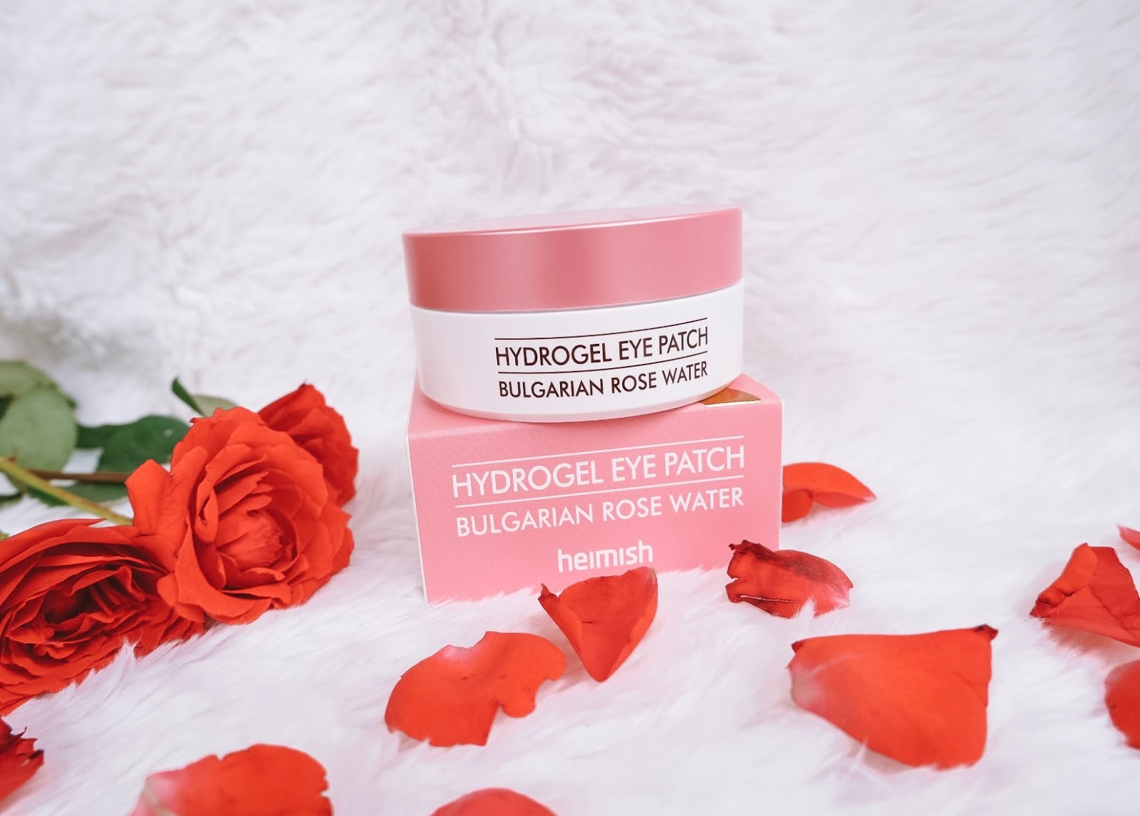 Review: Heimish Bulgarian Rose Water Hydrogel Eye Patch