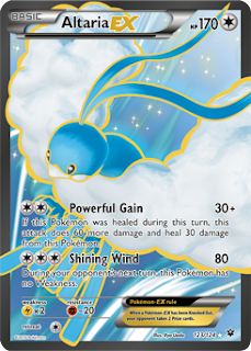 Altaria Fates Collide Pokemon Card