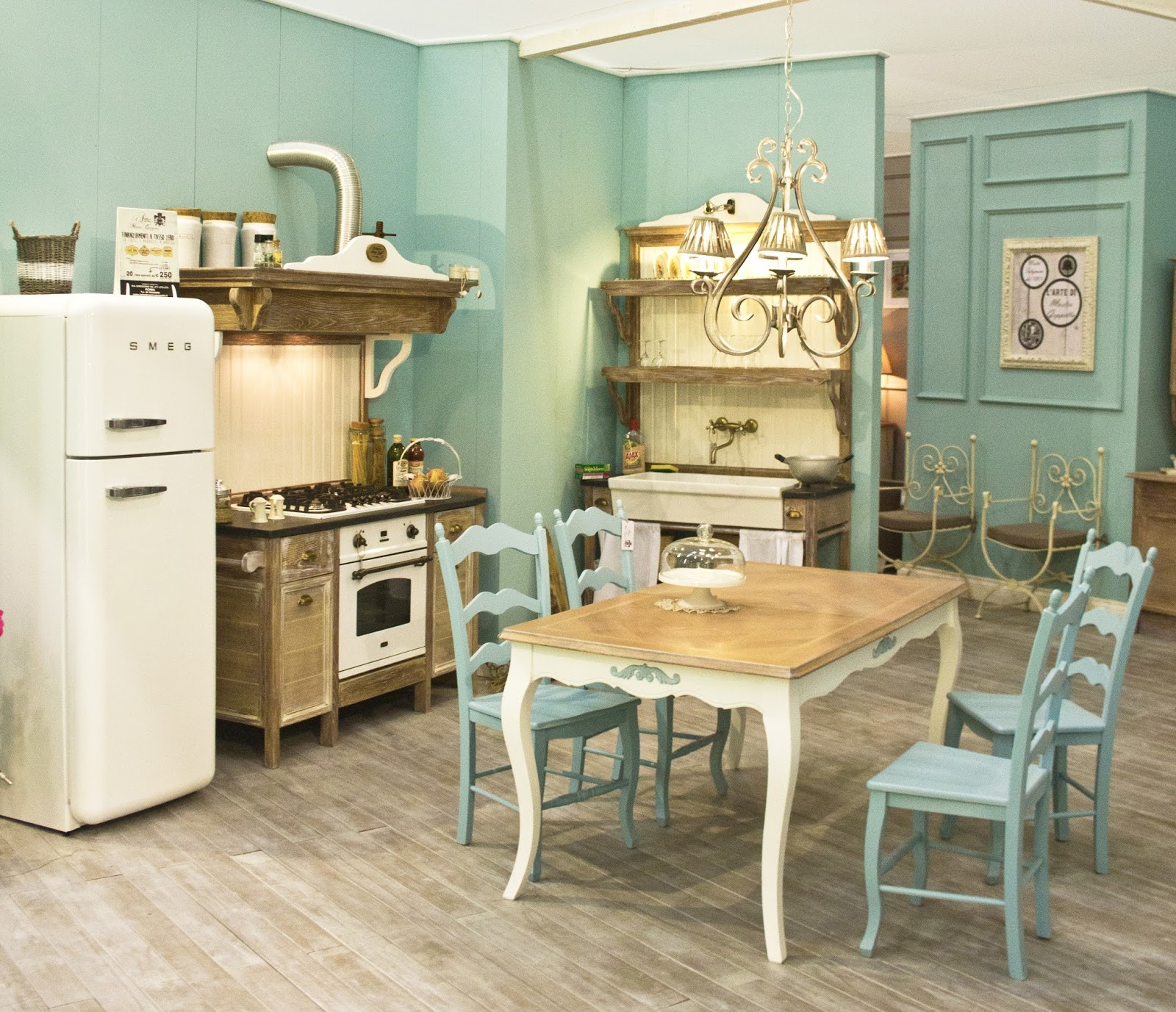Cucine Shabby Chic Roma.Vivre Shabby Chic L Arte Di Mastro Geppetto Dal Tronco Al Mobile
