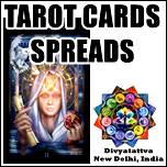 7 card tarot spread diagram , romance tarot spread , horseshoe tarot spread meaning,  tarot spreads relationship problems