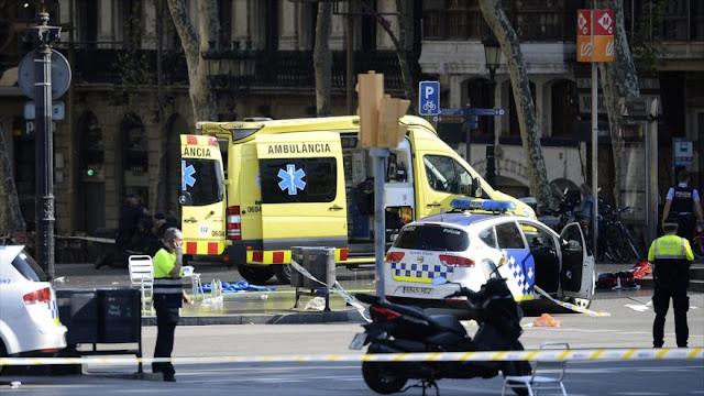 """""""Ataque terrorista"""" en Barcelona: Atropello deja 13 muertos"""