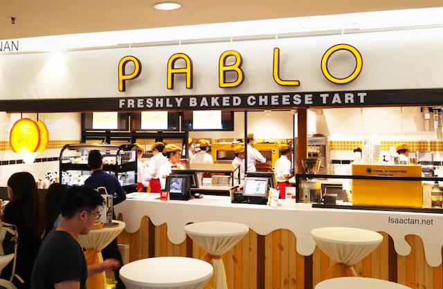Pablo Cheese Tarts @ 1 Utama