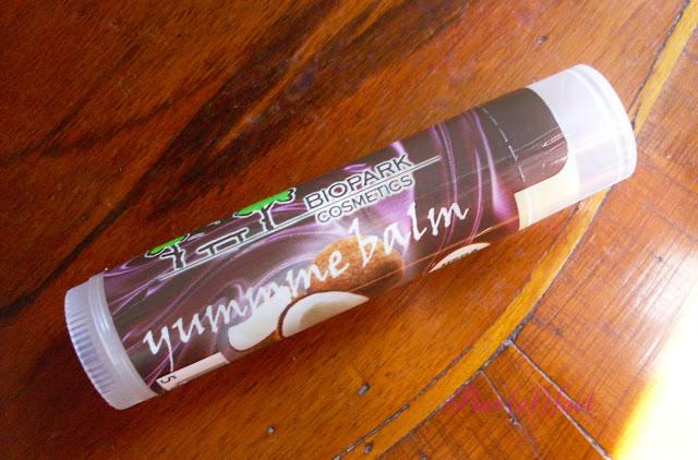 biopark cosmetics balsamo labbra cocco
