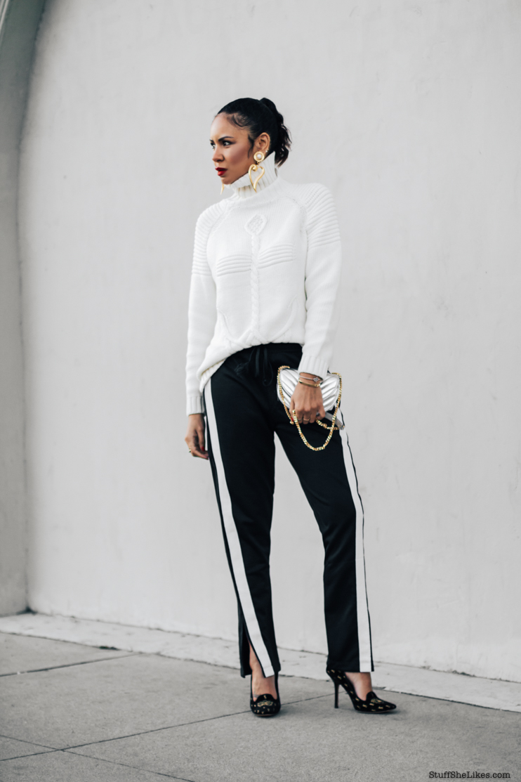 track pants, fashion blogger, fashion blog, best fashion bloggers, top fashion blogger, Taye Hansberry, Los Angeles fashion blogger