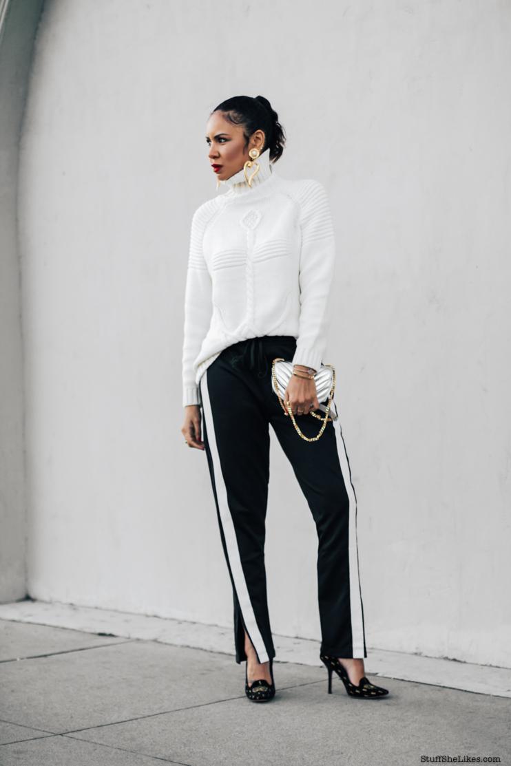 track pants, fashion blogger, fashion blog, best fashion bloggers, top fashion blogger, Taye Hansberry, Los Angeles fashion blogger