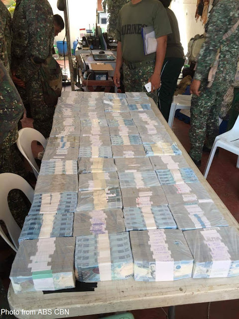 P79 Million seized in the Maute camp, Money might be from Foreign Terror Groups and Drug Money