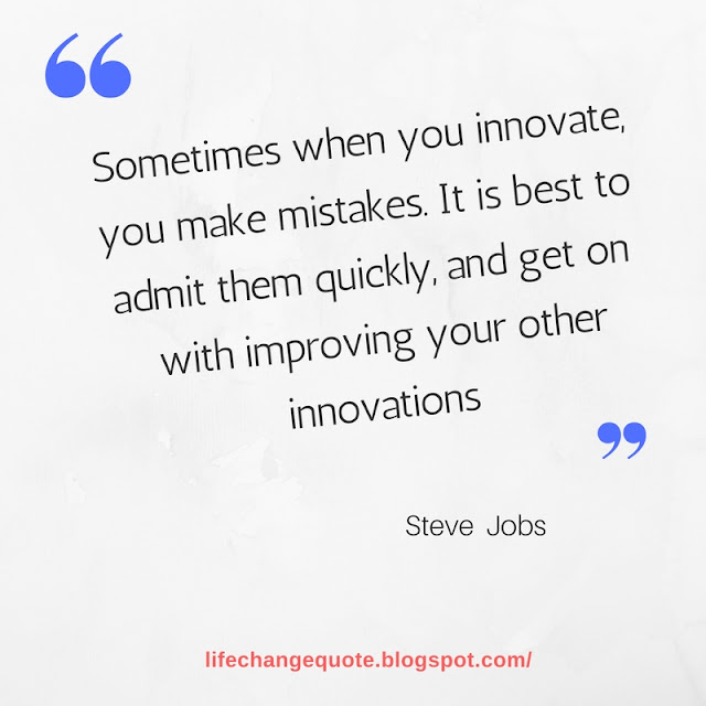 life changing quote by steve jobs