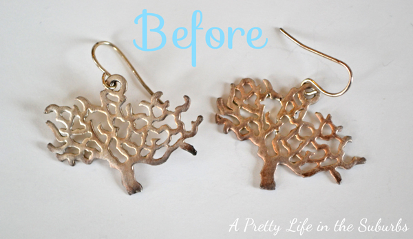 Repurposing your Jewelry with Spray Paint