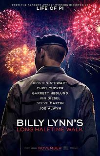 Billy Lynn's Long Halftime Walk - Poster & Trailer