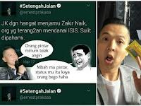 """Hina Zakir Naik, """"Pelawak Ernest Minoritas Songong Intoleran"""" Ujar Tokoh Islam ini"""