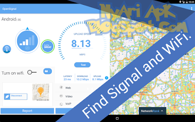 Download 3G 4G WiFi Maps & Speed Test (OpenSignal) v5.04 build 124350 for Android
