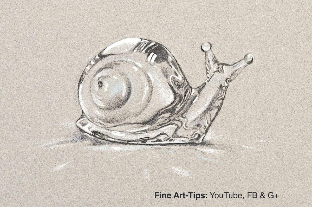 06-Snail-Leonardo-Pereznieto-Swarovski-Crystal-Drawings-www-designstack-co