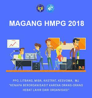 PENGUMUMAN PESERTA MAGANG HMPG 2018