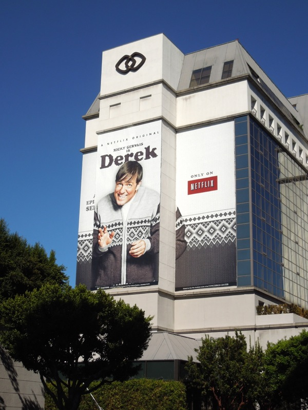 Giant Derek season 1 TV billboard